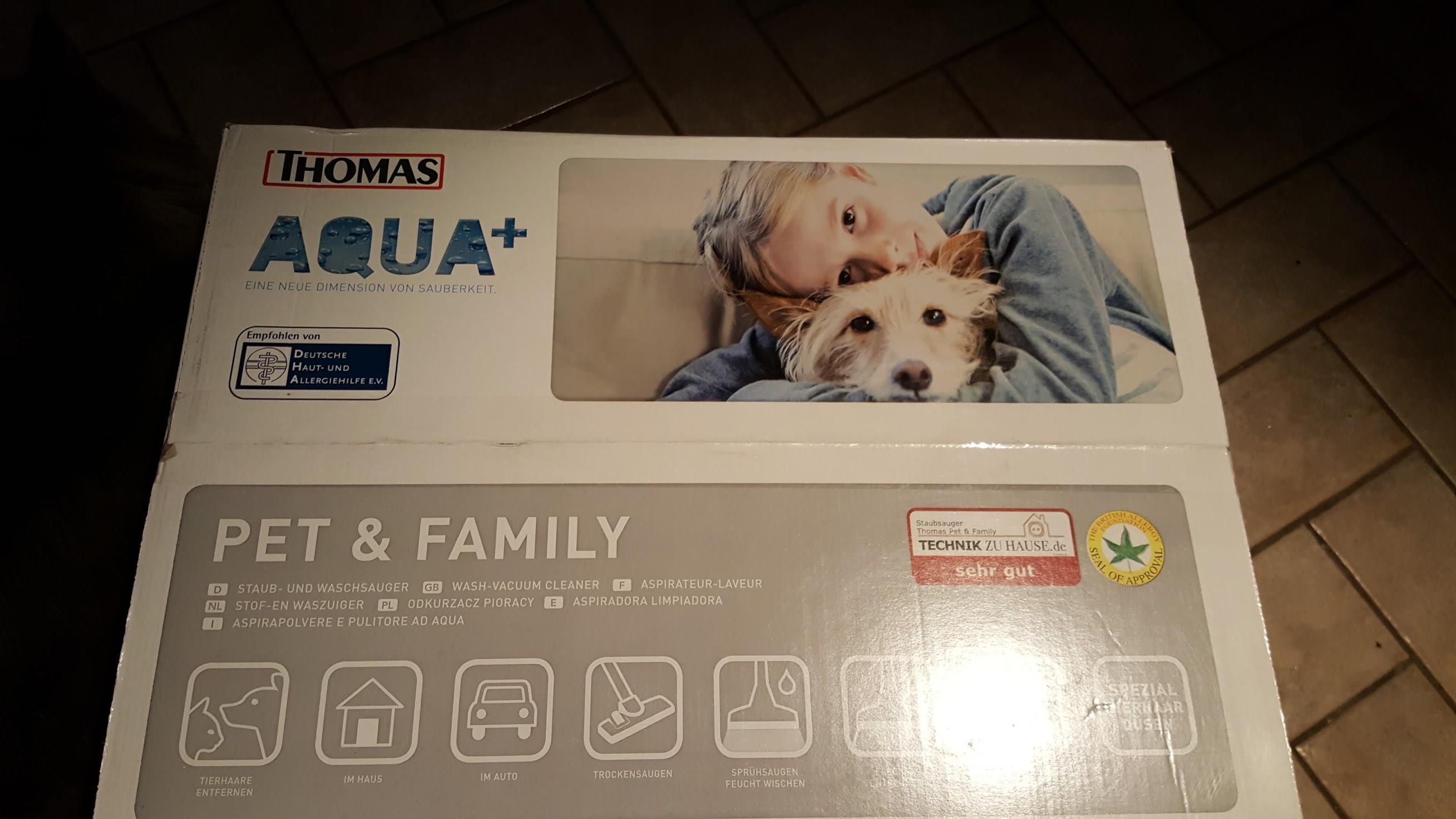 l 39 aspirateur thomas aqua pet family 2 3 l 39 aspiration. Black Bedroom Furniture Sets. Home Design Ideas