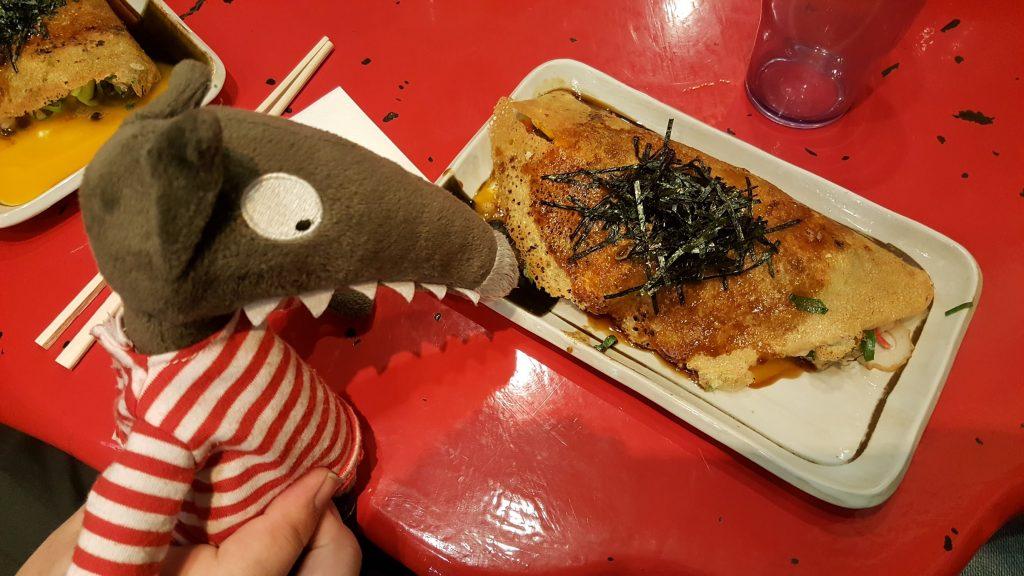 Bon c'pas toussa, mais bon appétit hein, vu que mon humaine de compagnie ne peut rien manger